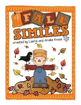 Students will practice writing similes related to the fall and autumn season.  Students will apply similes into their writing.