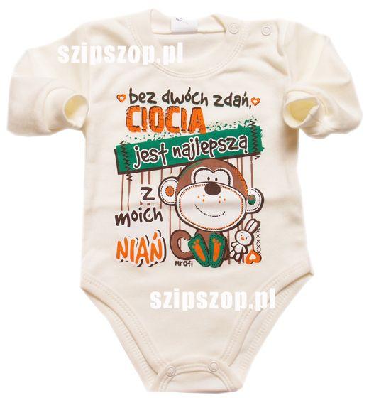 Ciocia jest najlepsza ! - się wie :) w SzipSzop.pl na bodziakach i w życiu :)  https://goo.gl/CsDYDW