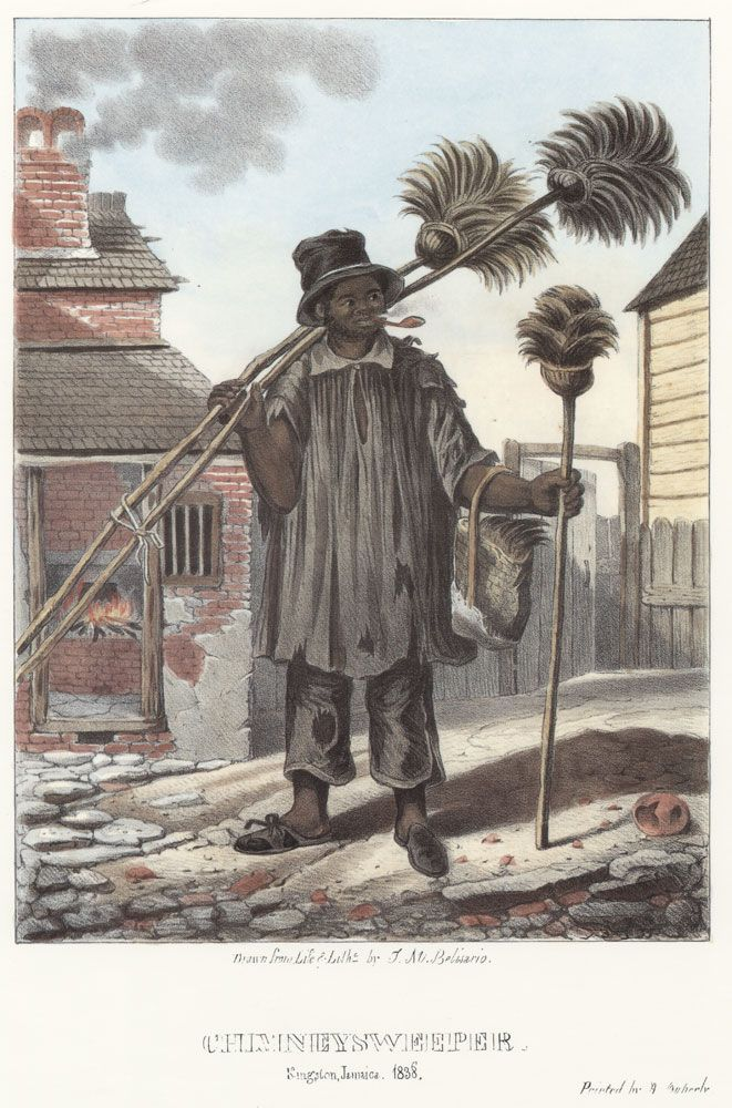 (1838) Chimney Sweeper, Jamaica