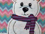 Nähanleitungen Kind - Applikationsvorlage (Eis)Bär - ein Designerstück von Klaerchens bei DaWanda