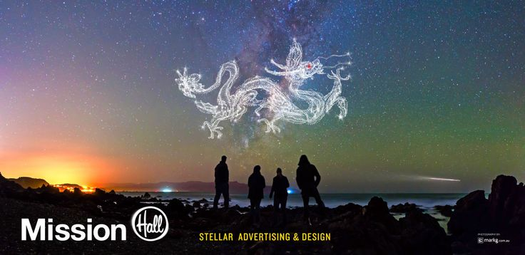 Billboard design Stellar Advertising and Design – Mission Hall Wellington New Zealand