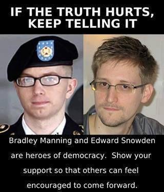 Bradley Manning& Edward Snowden