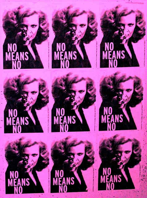 No means no...