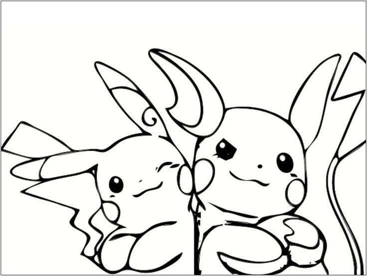 13 Moyen Coloriage A Imprimer Pikachu Pics | Coloriage ...