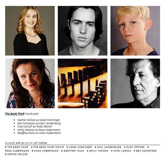 best the book thief images the book thief book thief movie cast rudy