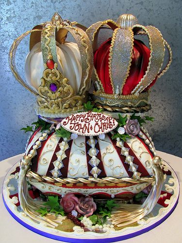 16 best King Philly themed cake images on Pinterest Crown cake