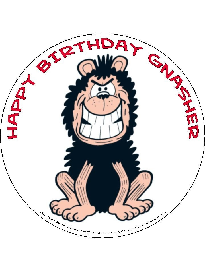 Dennis And Gnasher Cake Decorations