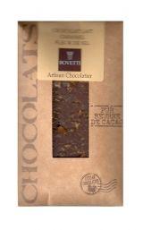 Bovetti 25g. Ciocolata cu lapte, caramel si flori de sare