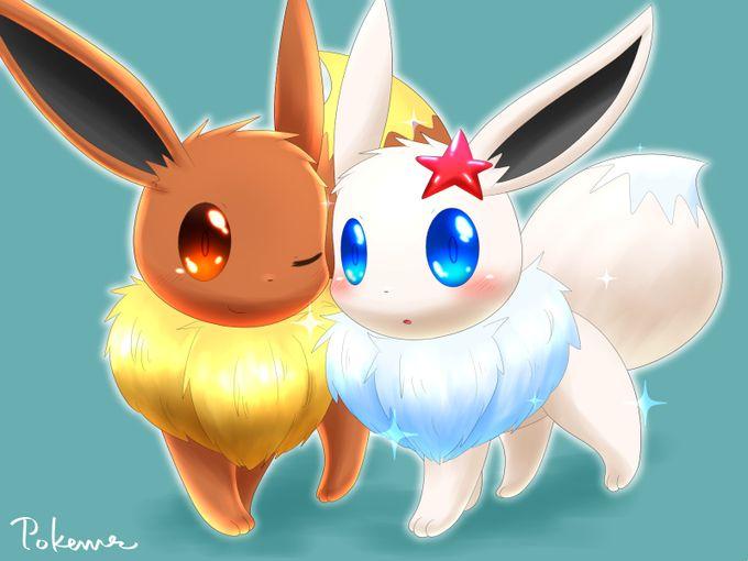 Eevee & Shiny Eevee