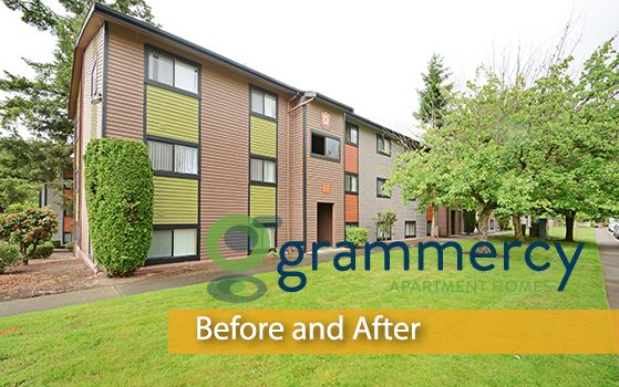 Introducing another #CommunityRedefined project, Grammercy Apartment Homes; a rebranded apartment community located in #Renton, WA. Trinity Property Consultants together with Redwood Construction have completed 143 interior renovations and many exterior improvements.Take a look at the before and after pictures below to view the transformation: http://www.trinity-pm.com/Apartments/module/blog/community-redefined-grammercy-apartment-homes/.