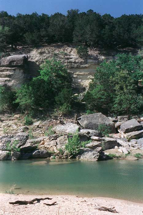 Dinosaur Valley State Park, TX  Banks of the Paluxy River