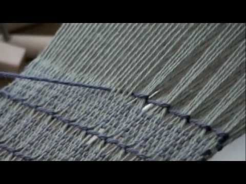 How to Weave a Brooks Bouquet Pattern on a Rigid Heddle Loom with PattyAnne - YouTube