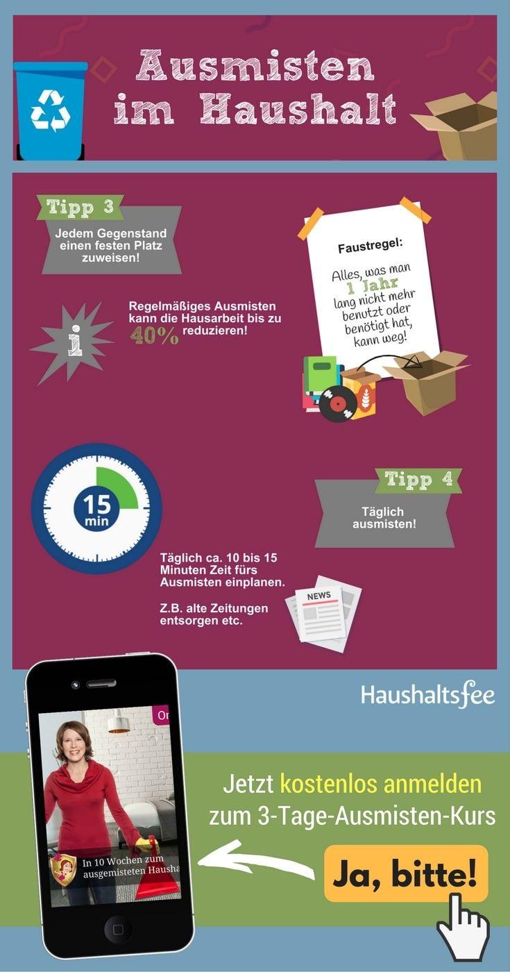 137 best checklisten f r den haushalt images on pinterest. Black Bedroom Furniture Sets. Home Design Ideas
