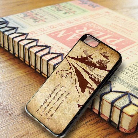 A Lonely Mountain iPhone SE Case