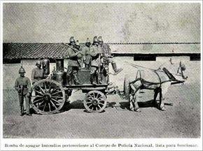 Cuerpo de Bomberos de Bogota, 1900