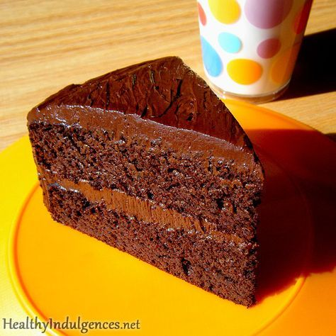 Sugar-Free, Healthy Chocolate Cake (Made from Black Beans!) by HealthyIndulgencesBlog, via Flickr