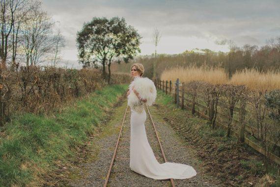 Mirth  Bohemian Luxe Antique Gold Silk Wedding by GibsonBespoke