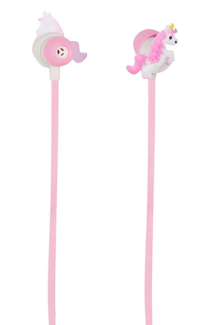 Primark - Écouteurs licornes en silicone