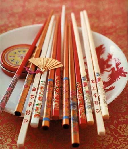 Learn to use chopsticks - Done!