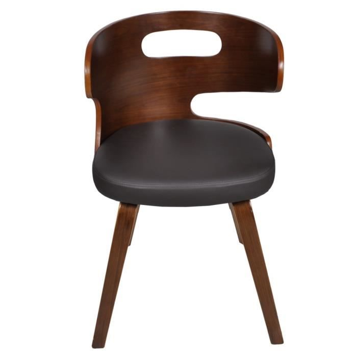 Dimensions: 49,5 x 52 x 68,5 cm Largeur d'assise: 44 cm Profondeur d'assise: 41 cm Hauteur de selle a partir du sol: 50 cm Hauteur de dossier: 23,5 cm Materiau du bois: Contreplaque Materiel: Coton: 3%, PVC: 70%, Polyurethane: 4%…Voir la présentation
