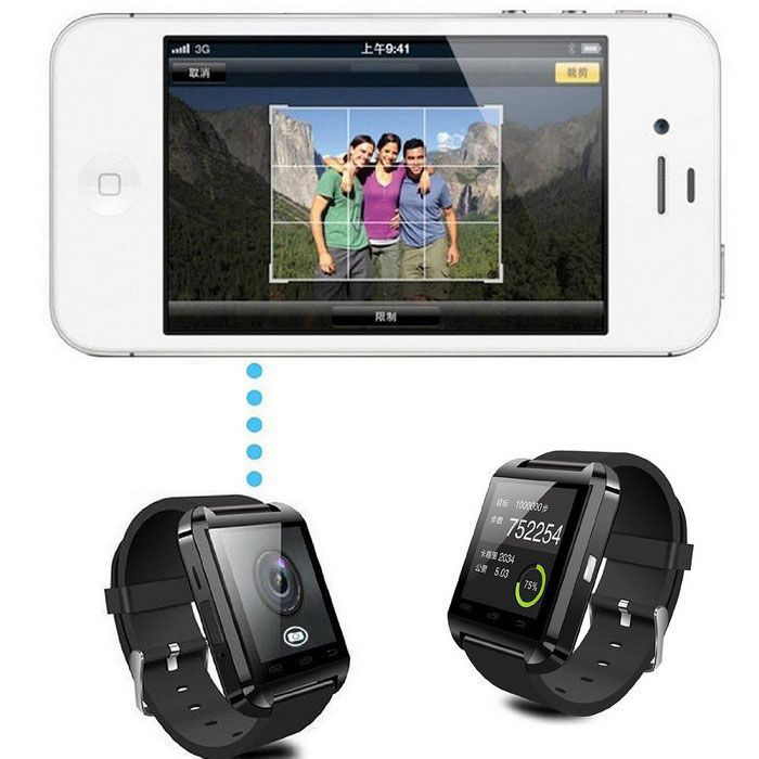 Bluetooth Smart Watch for Android - Black - Free Shipping - DealExtreme