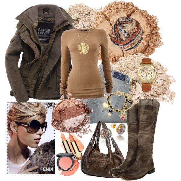 Fall Wear: Woman Fashion, Fall Wear, Fall Wins, Polyvore, Create, Women'S Fashion, Neutral Natural Colors