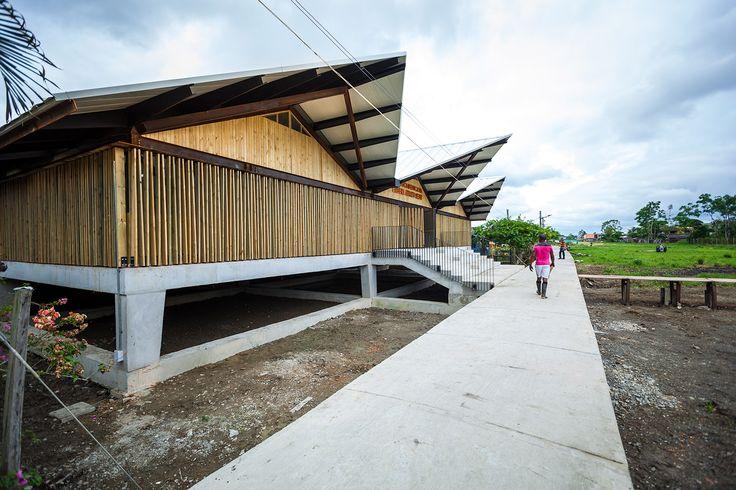 Institucion Educativa Embera Atrato Medio / Plan B Arquitectos