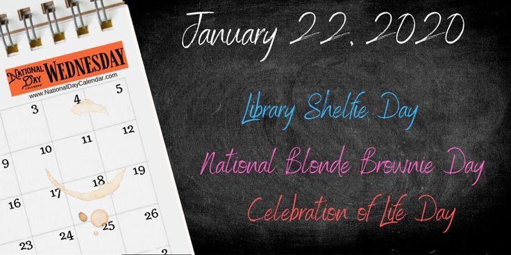 January 22, 2020 LIBRARY SHELFIE DAY CELEBRATION OF