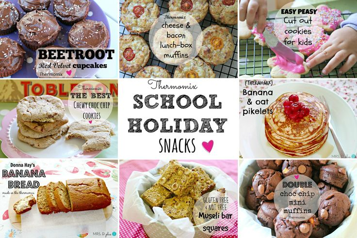 School holiday snack idea for kids (using a Thermomix)