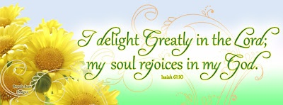 Isaiah 61:10 timeline cover