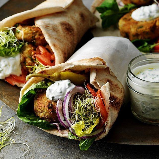 Vegetarisk wrap #arlaköket #arla #recept