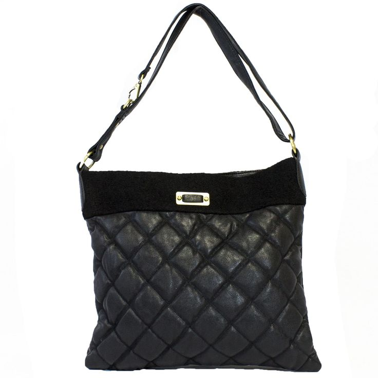 Gabby Quilted Messenger Bag | Discount Purses | Handbag Heaven