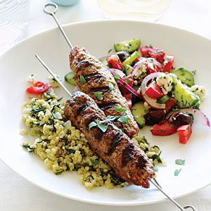 So Amazing Armenian Lula Kebabs | MyRecipes.com  (Sue made for AM's birthday, w chicken not lamb)