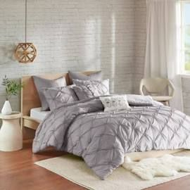 Urban Habitat Talia Full/Queen 7 Piece Embroidered Comforter Set in Grey - Olliix UH10-2090