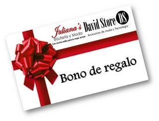 TARJETA REGALO $80.000 — Juliana's & David Store