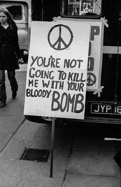 1967 Ban The Bomb London Protest © John M Thomson