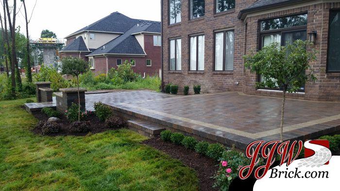 Paver Patio Installation & Landscape Design Washington Twp., MI 48094 >> http://jjwbrick.com/paver-patio-installation-landscape-design-washington-twp-mi-48094/