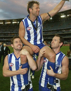 "Glenn Archer - member of the North Melbourne Team of the Century and is recognised with the title the ""Shinboner of the Century"" as the North Melbourne player who most embodies the Shinboner spirit. Arguably the toughest player to step onto a football field. Archer had a reputation as one of the most courageous players ever to play the game."