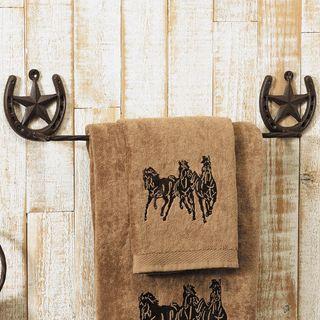 Western Star Towel Bar