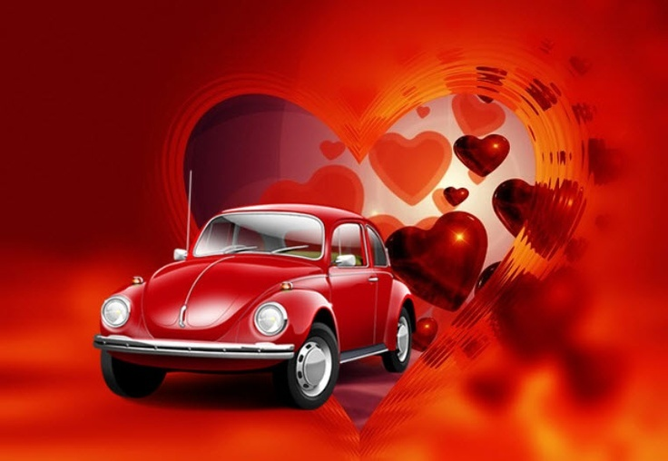 Beetle Love.... Valentine's Vehicles www.LindsayVolkswagen.com #Volkswagen #HappyValentinesDay ...