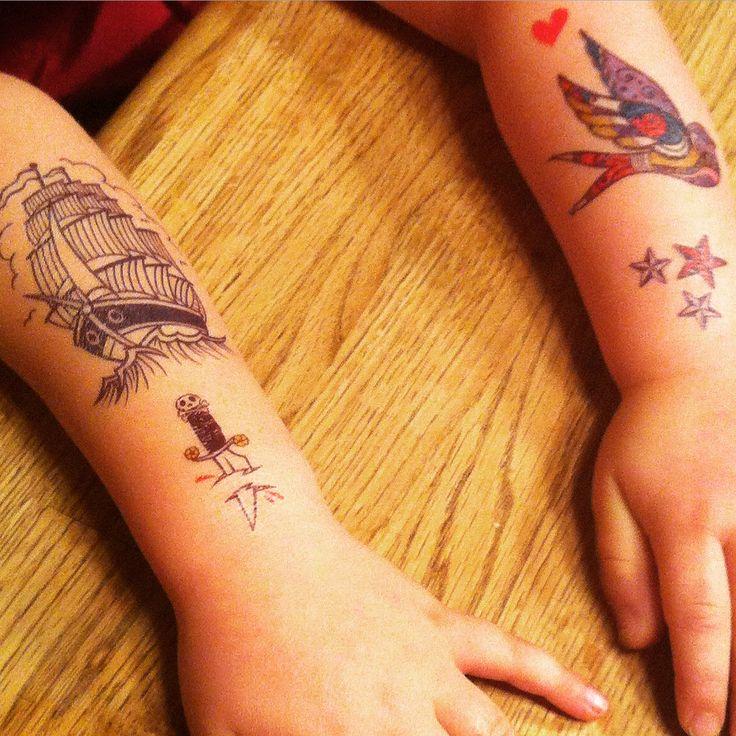 Tatouages temporaires www.lestatoues.com