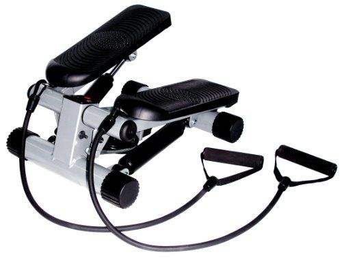 Shop  Sunny Health  &  Fitness Mini Stepper with Resistance Bands