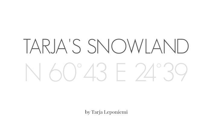 Tarja's Snowland -blogini tavoittaa kuukaudessa kymmeniä tuhansia sisustamisesta ja lifestyle-aiheista kiinnostunutta kävijää. Olen blogannut vuodesta 2007. Blogini on tällä hetkellä osa A-lehtien StyleRoomia http://tarja-snowland.blogspot.fi