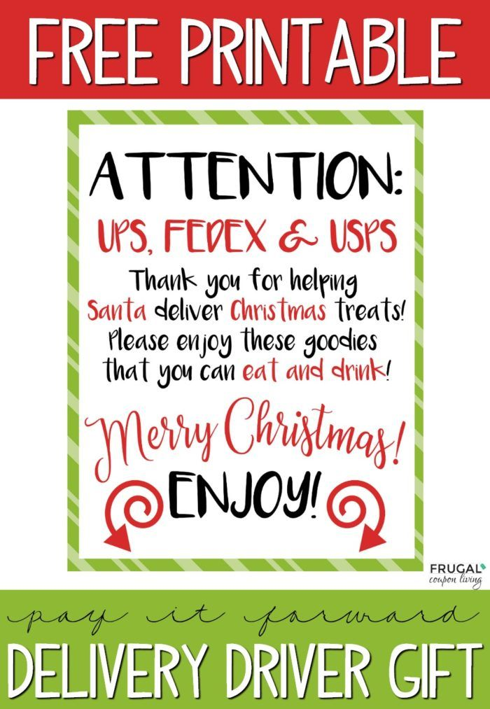 Delivery Christmas Sign For Ups Fedex And Usps Christmas Signs Christmas Lettering Homemade Christmas Gifts