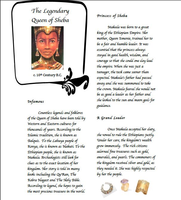 8 best Queen of Sheba Lesson Plan and Prezi images on Pinterest - resume lesson plan
