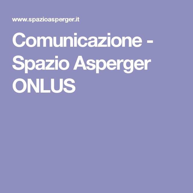 Comunicazione - Spazio Asperger ONLUS