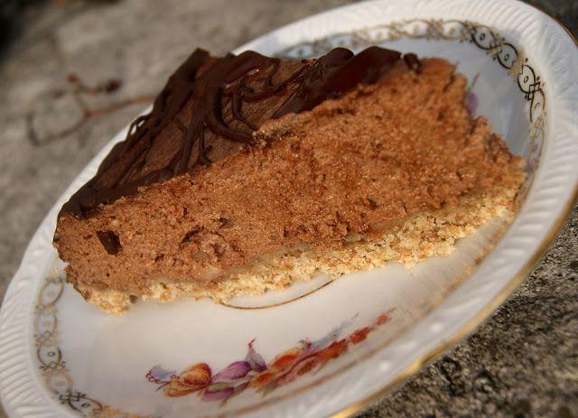 sernik czekoladowy na mleku kokosowym