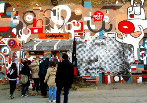 Real Berlin Experience Every Tues, Thurs, Fri & Sat @ 12pm Duration 4.5 hours...visit the city's African, Turkish and former Jewish  communities. Take a walk through Berlin's subcultures and it´s counter culture history and see some of the world's most breathtaking Street art & graffiti