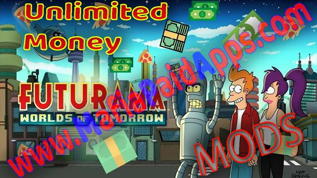 Futurama: Worlds of Tomorrow 1.5.3 Apk Mod (Free Store) for android    Futurama Worlds of Tomorrow Apk  Futurama: Worlds of Tomorrow is a Adventure game for android  Download last version of Futurama: Worlds of Tomorrow Apk Mod for android from MafiaPaidApps with direct link  BUILD your own New New York BATTLE aliens COLLECT your favorite heroes and EXPLORE space in an epic Futurama story from the original writers!  Relive the show in this thrilling and hilarious game that will have you in…