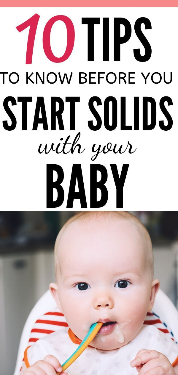 Starting baby on solids: The complete guide | Starting ...